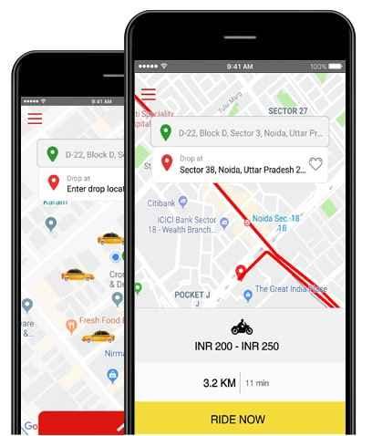 Taxi Booking Application Development | Uber Like App Development